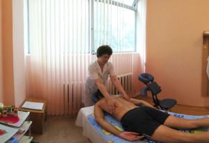 Лечебный массаж в санатории Мисхор