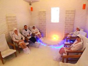 Соляная комната в санатории Мисхор